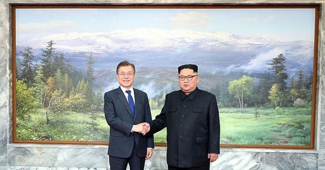 Лидерът на Северна Корея Ким Чен-ун днес се срещна отново