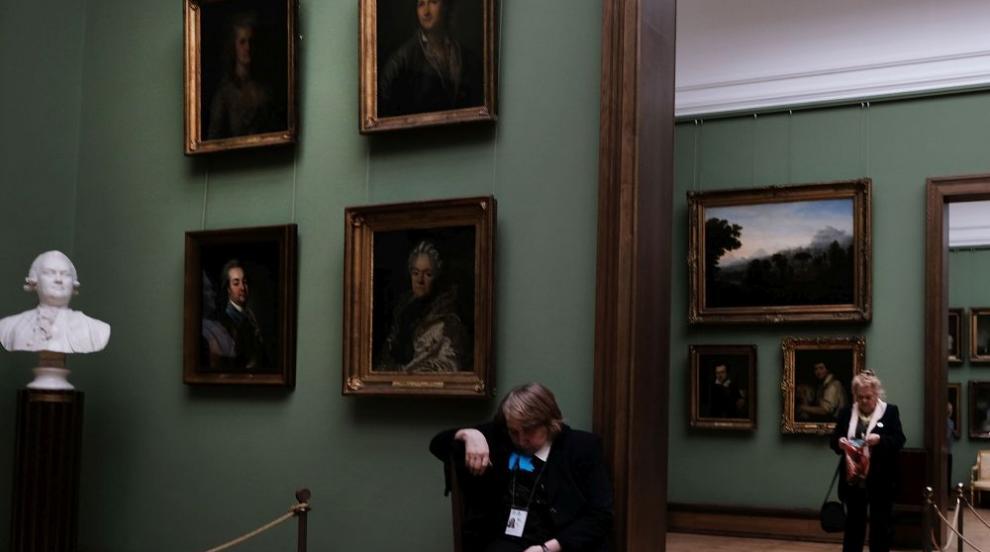 Вандал повреди картина на Репин в Третяковската галерия (СНИМКИ)