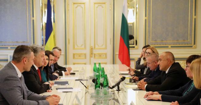 В рамките на посещението на министър-председателя Бойко Борисов в Киев,