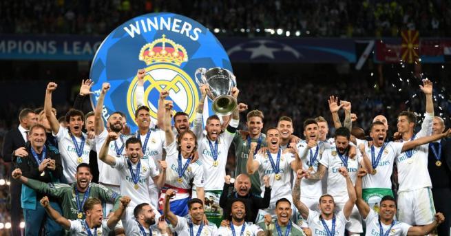 Отборът на Реал Мадрид спечели безпрецедентен 13-ти трофей в Шампионската