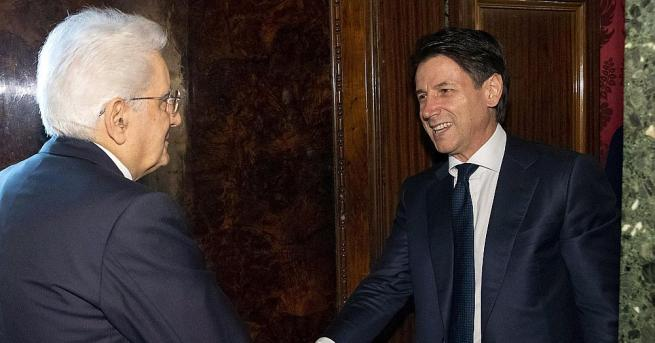 Италианският президент Серджо Матарела заяви, че е отказал да одобри