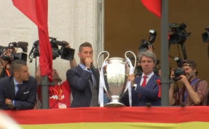 Реал показа трофея на своите в Мадрид
