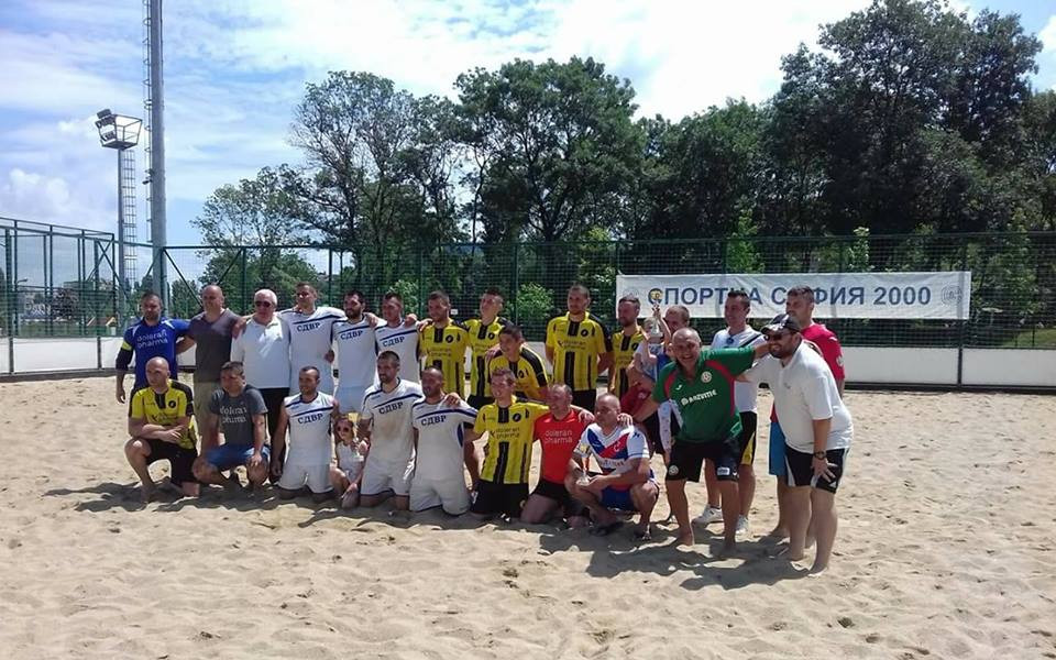 Градското първенство на София определи първите два тима за държавното по плажен футбол