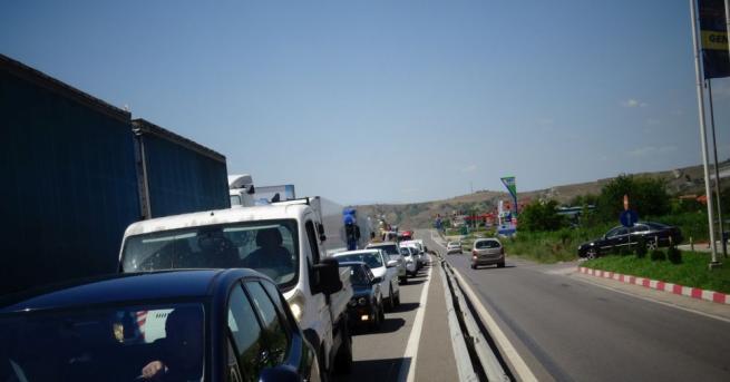 На границата с Гърция на ГКПП