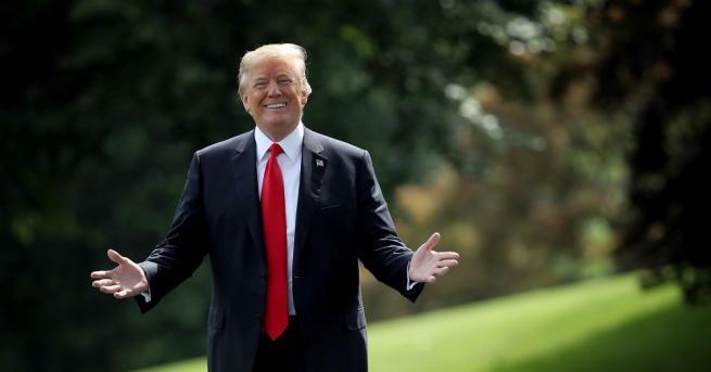 Президентът на САЩ Доналд Тръмп прие в Овалния кабинет американската