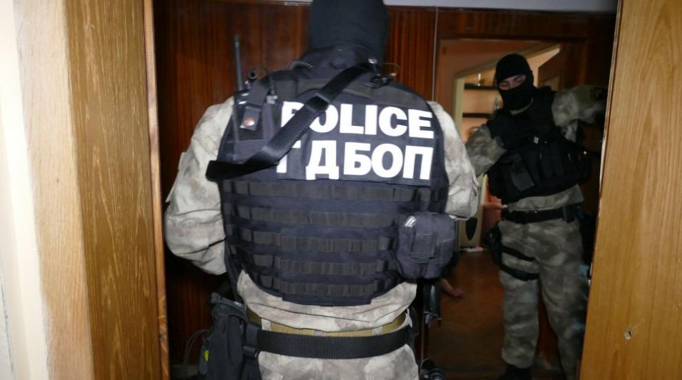 Задържаха над 10 души при акция на ГДБОП и ДАНС в Благоевград