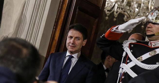 Италианският президент Серджо Матарела възложи официално на досегашния премиер Джузепе