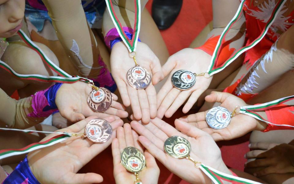 Спортен празник за малките акробати в София
