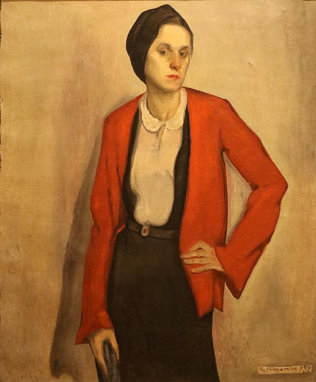 Дамски портрет, 1932 г.