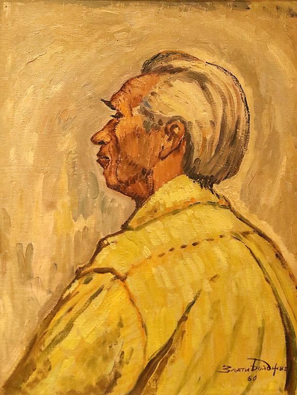 Портрет на скулптура Иван Фунев 1960