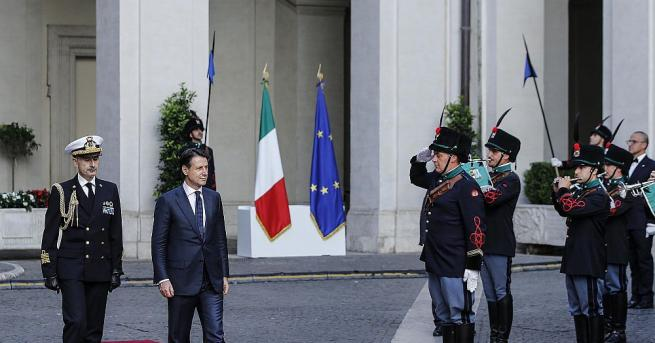Новото италианско правителство на Джузепе Конте положи клетва пред президента