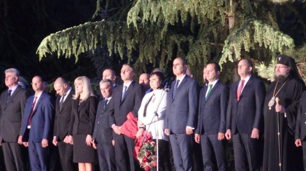 Радев: Вярвам, че има български воля, дързост, талант - Ботев е тяхното...