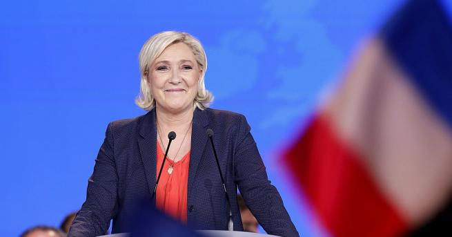 Лидерката на френската крайна десница Марин Льо Пен изрази недоволството