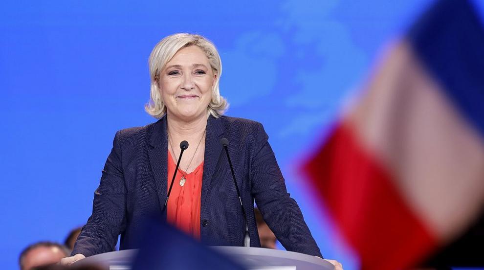 Ако президентският вот във Франция е днес, Льо Пен би спечелила първия тур
