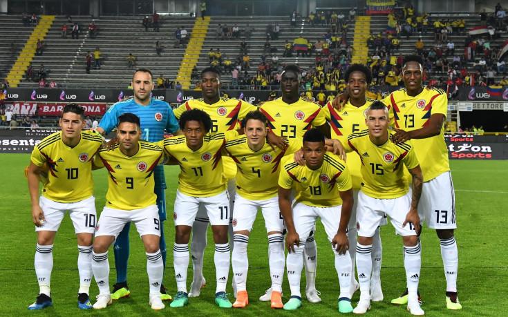 Колумбия с големите си звезди на Мондиал  2018