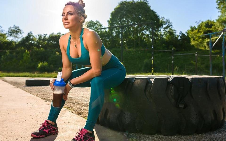 Сани Жекова с любопитни мисли между тренировките