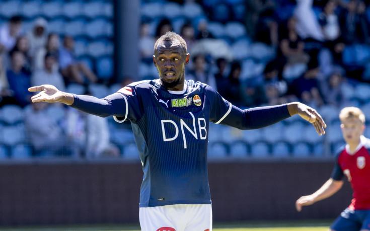 Юсейн Болт дебютира за норвежки футболен клуб