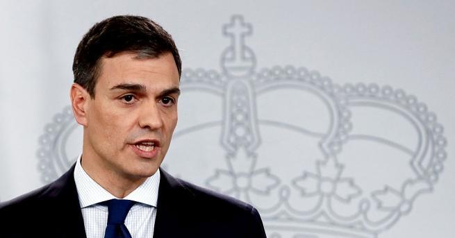 Новият испански премиер, социалистът Педро Санчес, представи тази вечер своето