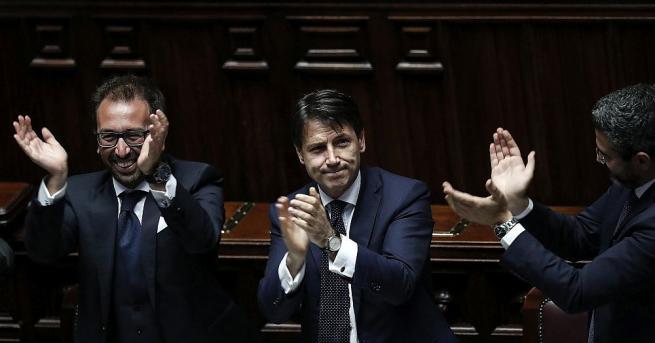 След Сената вчера, долната камара на италианския парламент днес също