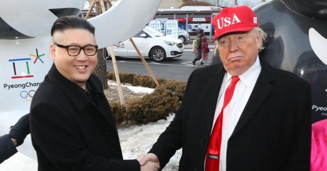 Докато светът чака историческата среща на върха между американския президент