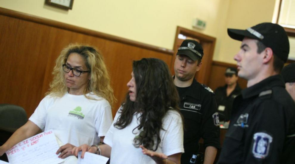 Съдът решава да пусне ли Десислава Иванчева под домашен арест