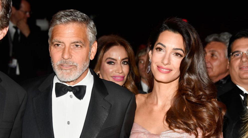 Голямо признание за Джордж Клуни, Амал сияе от щастие до него (СНИМКИ)