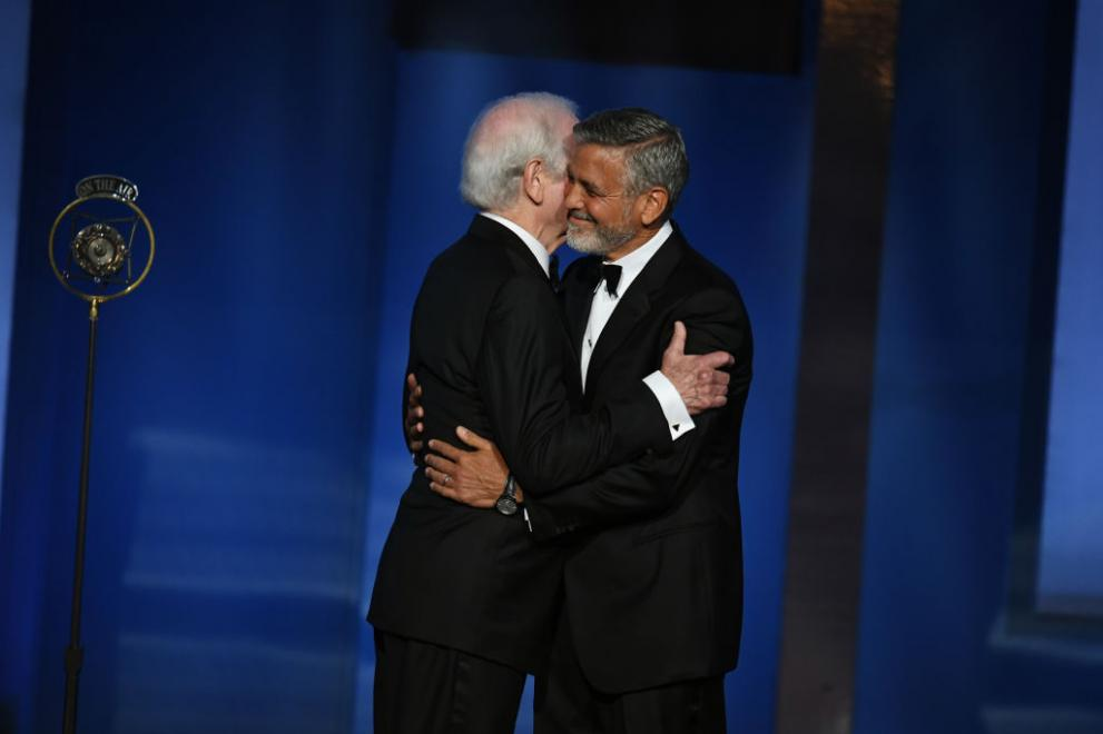 Баща и син - Ник и Джордж Клуни