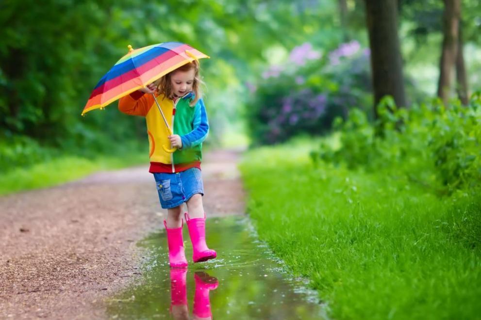 дъжд времето