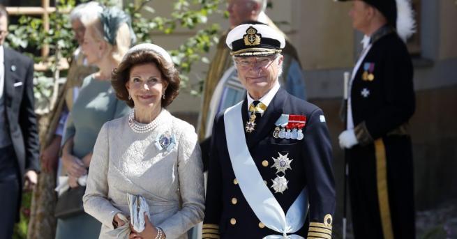 Кралят на Швеция обяви, че изважда петима свои внуци от