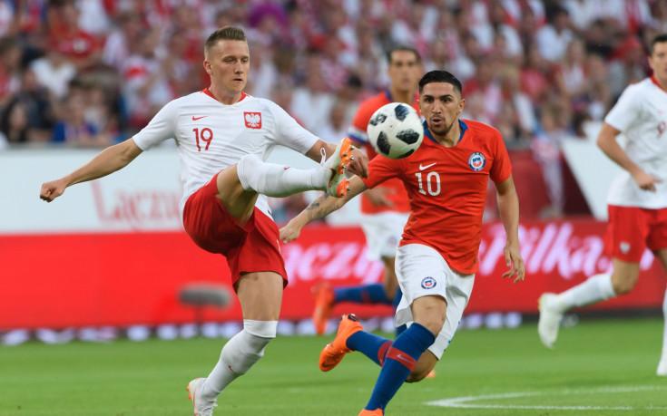 Полша изпусна добър аванс в контрола с Чили