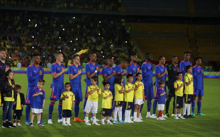 Защитник отпадна от състава на Колумбия заради контузия