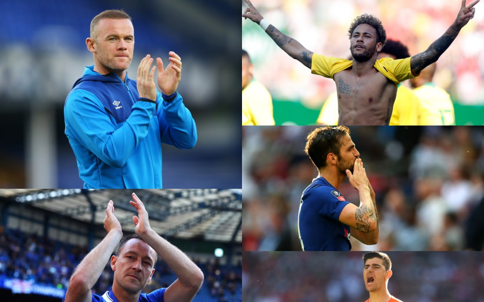 Любопитните ритуали на футболните звезди