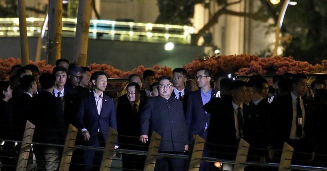 Севернокорейският лидер Ким Чен-ун е обиколил забележителностите на Сингапур в