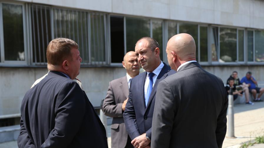 Президентът за инцидента в Пловдив: Лобизмът убива