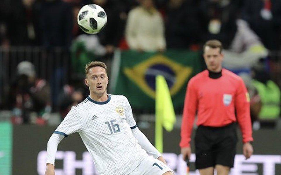 Ювентус е договорил звездата на Локомотив Москва Алексей Миранчук, съобщава