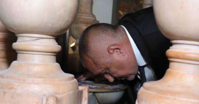Министър-председателят на България Бойко Борисов, който е на работно посещение