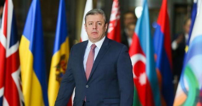 Грузинският министър-председател Гиорги Квирикашвили подаде оставка заради разногласия с лидера