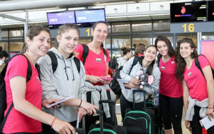 Волейболистките заминаха за финалите на Златната лига