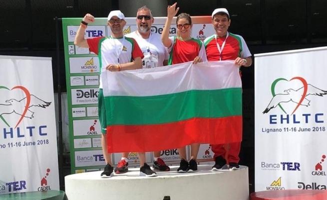 Българските представители на европейските игри.