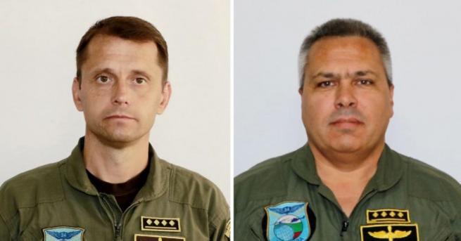 Загиналите летци от авиобаза Крумово – майорите Пламен Пантилеев и