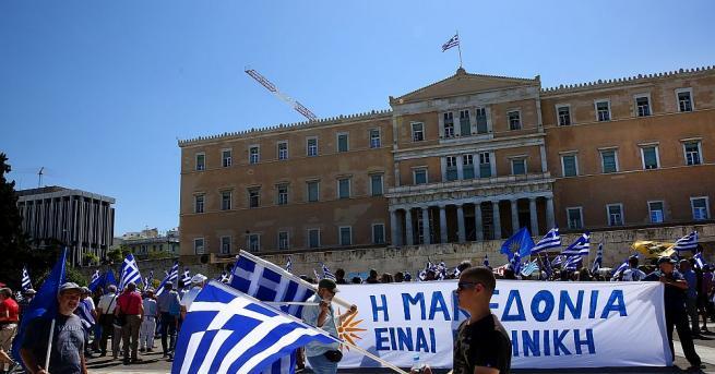 От трибуната на гръцкия парламент депутат от СИРИЗА Йоргос Урсузидис