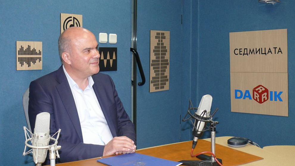 Социалният министър Бисер Петков