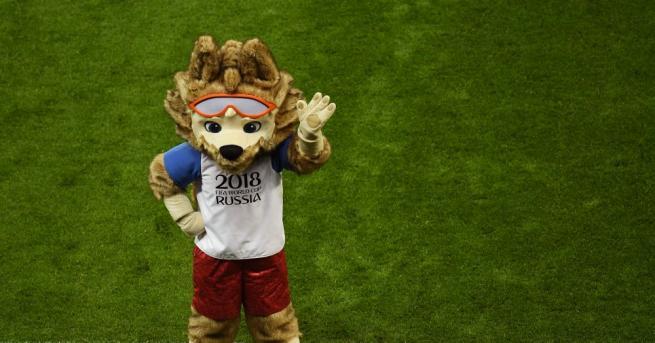 Симпатичен вълк е официалният талисман на Световното първенство по футбол
