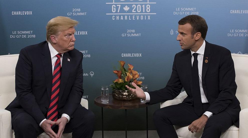 Франция отрече приписвано на Тръмп изказване