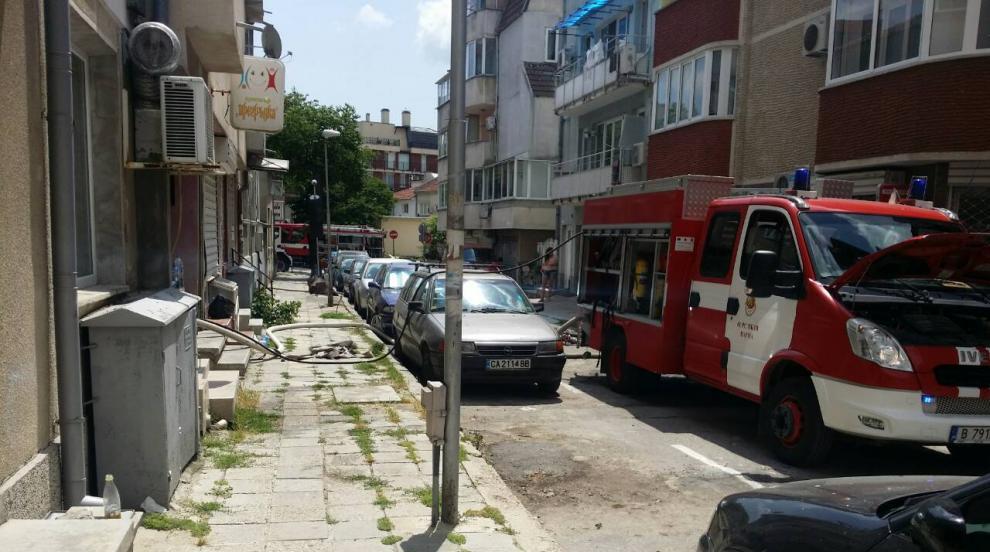 Мъж загина при пожар във Варна