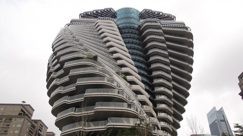 Убежището на Тао Жу в Тайван - най-екологичният небостъргач в света (СНИМКИ)