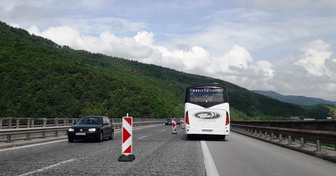 От понеделник се въвежда ограничение на скоростта до 90 км/ч