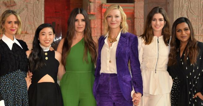 """""""Бандитките на Оушън"""" дебютира на върха на американската box office"""