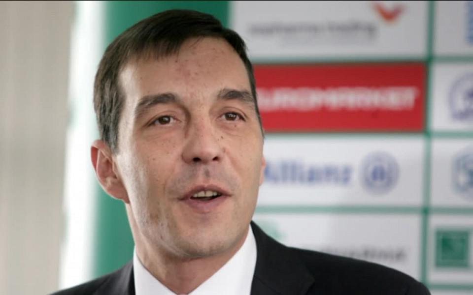 Изпълнителният директор на Лудогорец Ангел Петричев запази спокойствие след победата