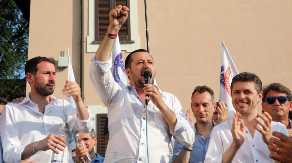 Две трети от италианците подкрепят твърдата линия на вътрешния министър...